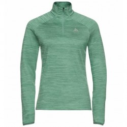 Pull 1/2 zip Millennium element W (malachite green melange)