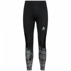 Collant zeroweight warm reflective H (black graphic)