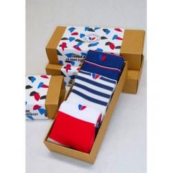 Pack trio tricolore