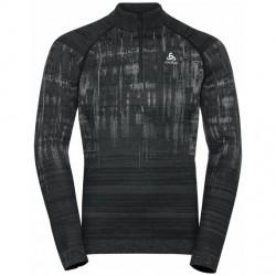 T shirt ML 1/2 zip Blackomb H (black)