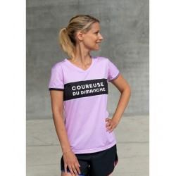 T shirt Le Bicolore W (rose)