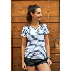 T shirt Marinière W (bleu blanc)