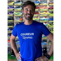 "T shirt ""Le Libournais"" H (bleu)"