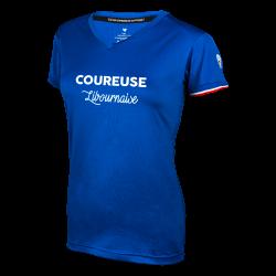 """T shirt """"La Libournaise"""" W (bleu)"""