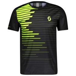 Shirt M'S RC Run H (black/yellow)