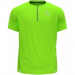 T shirt 1/2 zip Axalp trail H (lounge lizard)