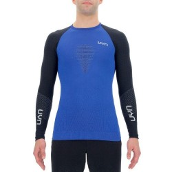 Marathon ow shirt long H (persian blue/black/blackboard)