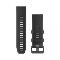 Bracelet Quickfit silicone 26 mm (black)
